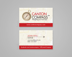 Canton Compass Logo & Business Card
