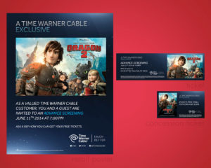 TWC How to Train Your Dragon Advance Screening